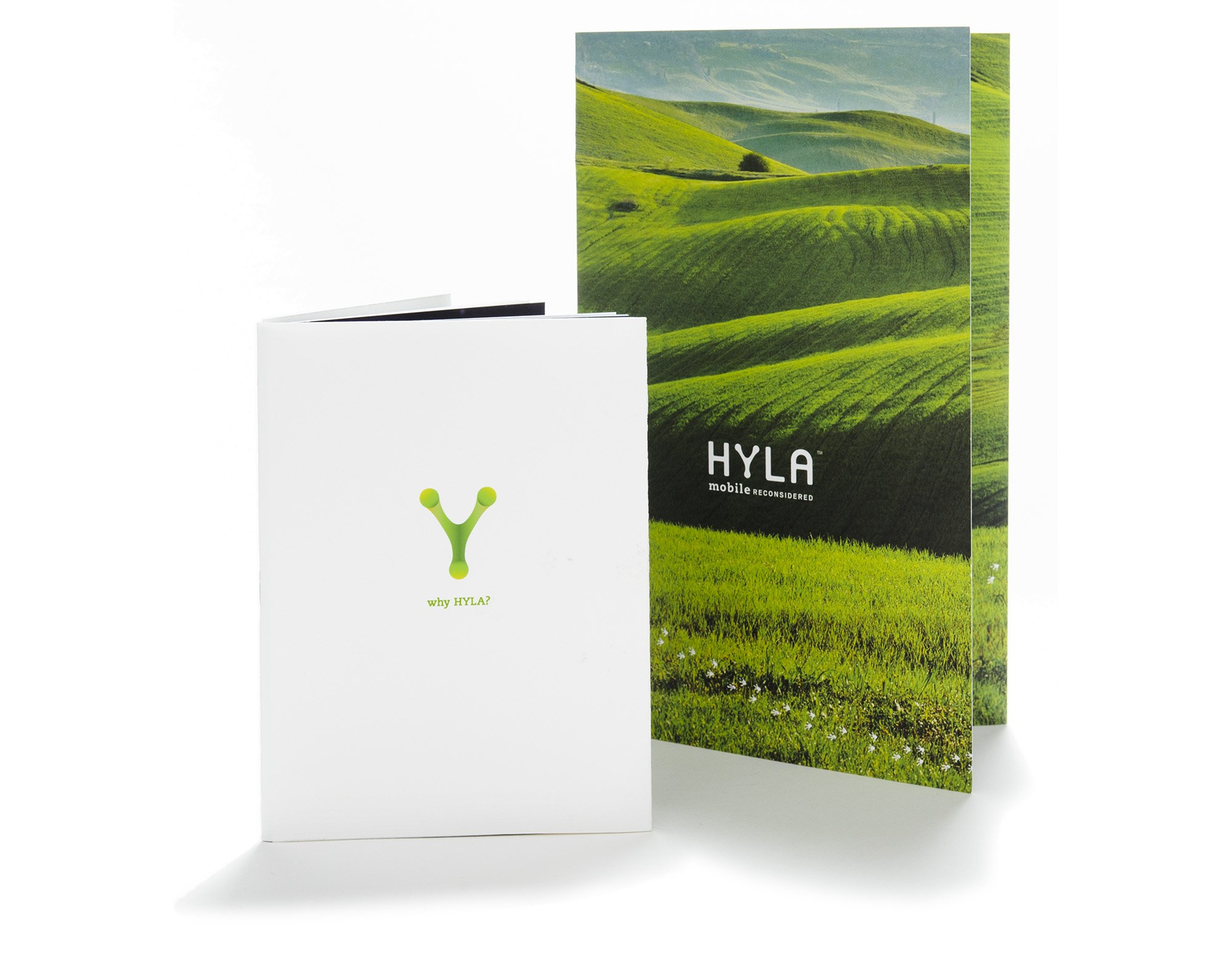 Hyla Mobile Collateral