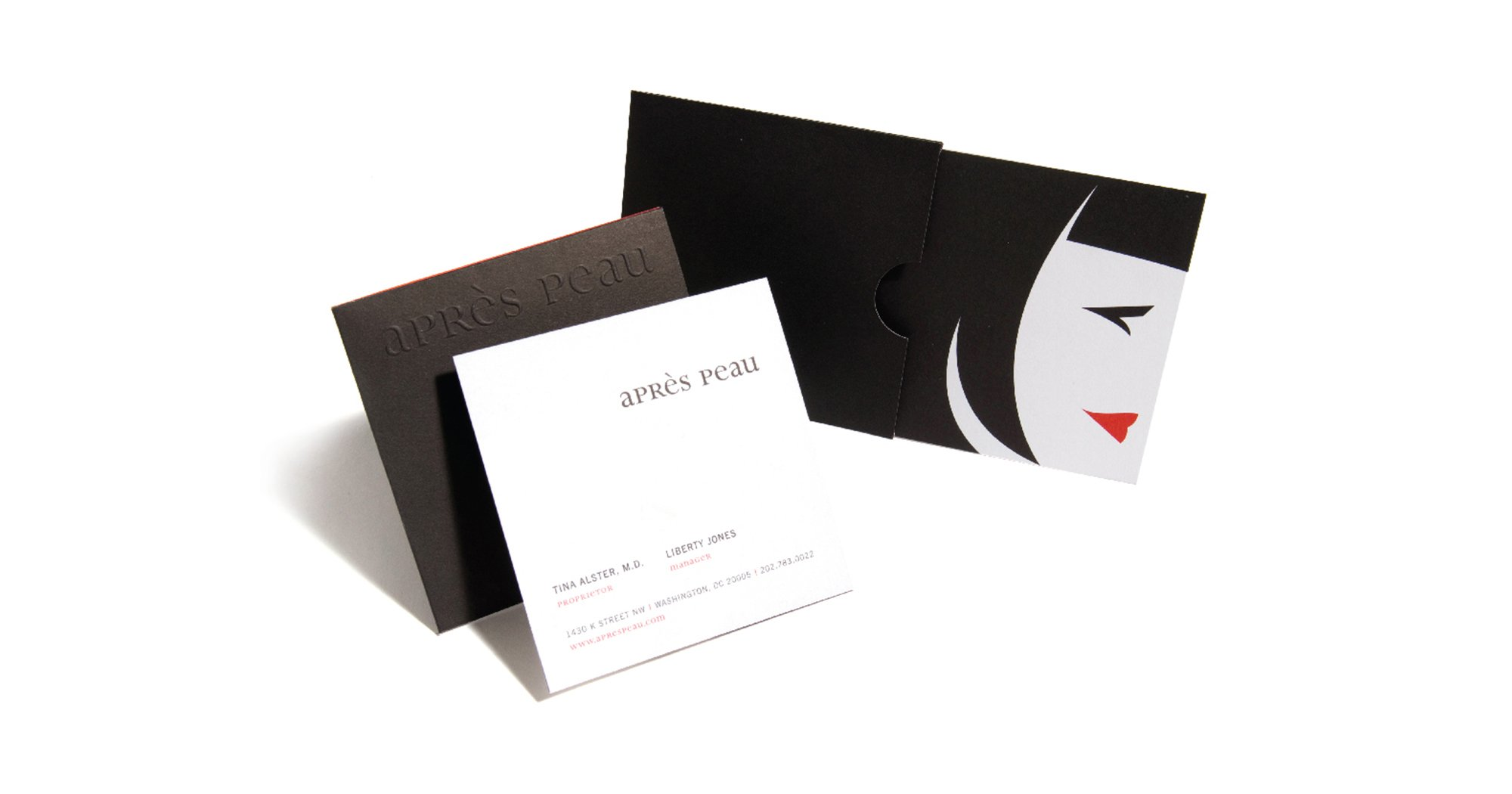 Apres Peau Stationery