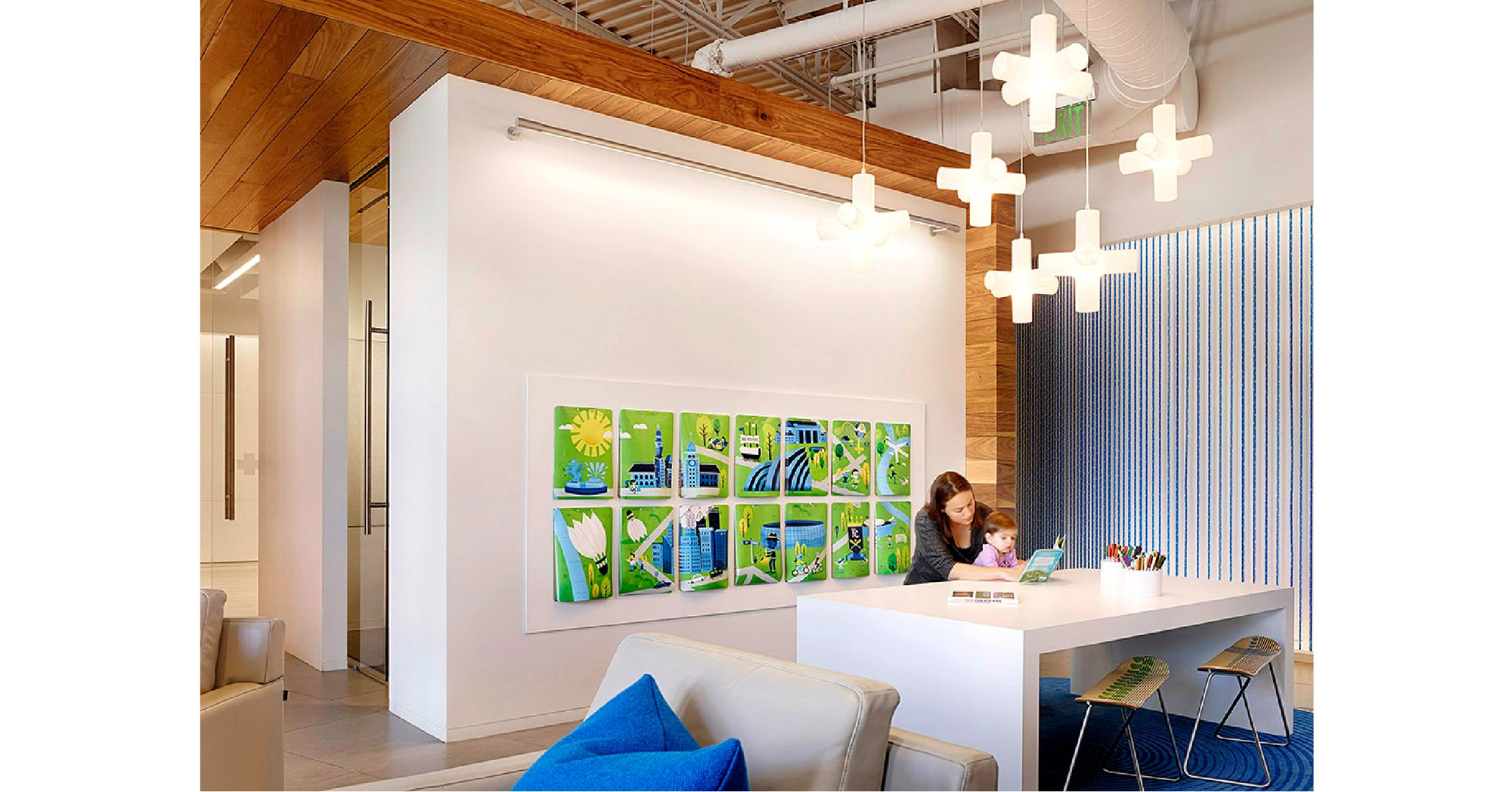 Live Blue Center - Environmental Design Kansas City