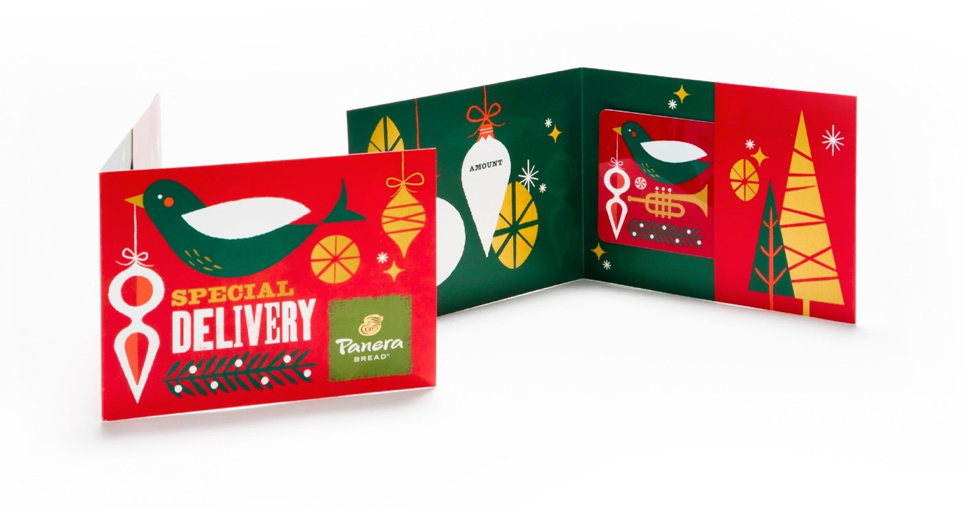 Panera Holiday Packaging