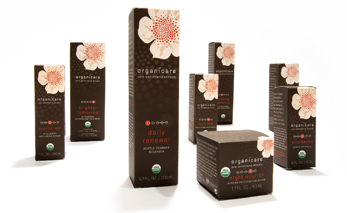 Organicare Packaging Set