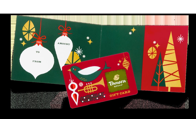 Panera Tiding Giftcard