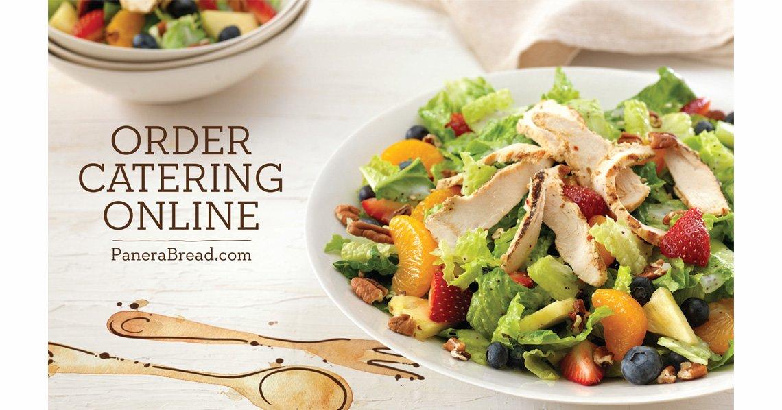 Panera - Order Catering Online