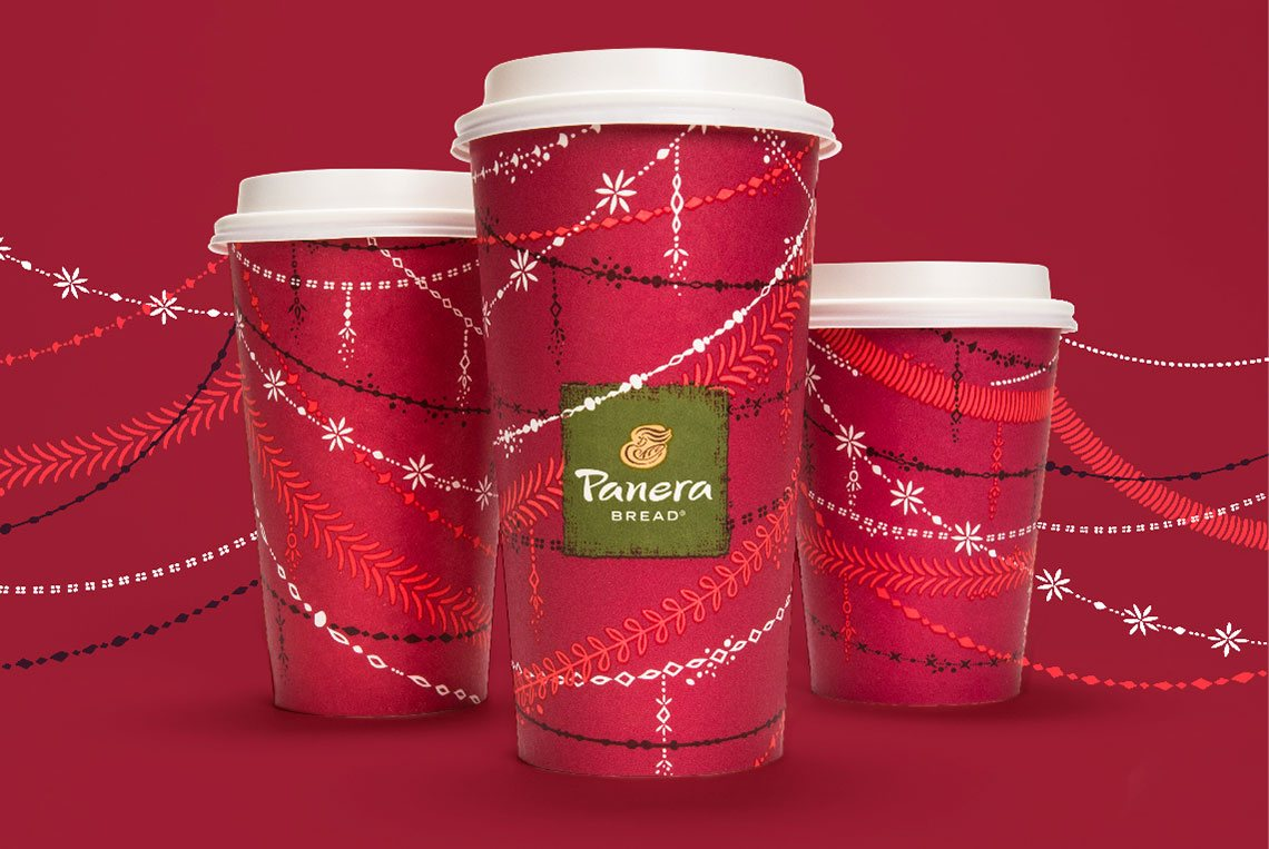 Panera Holiday Cup