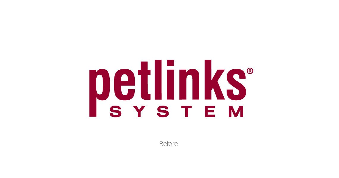 Petlinks Logo Before - Pet Care Branding