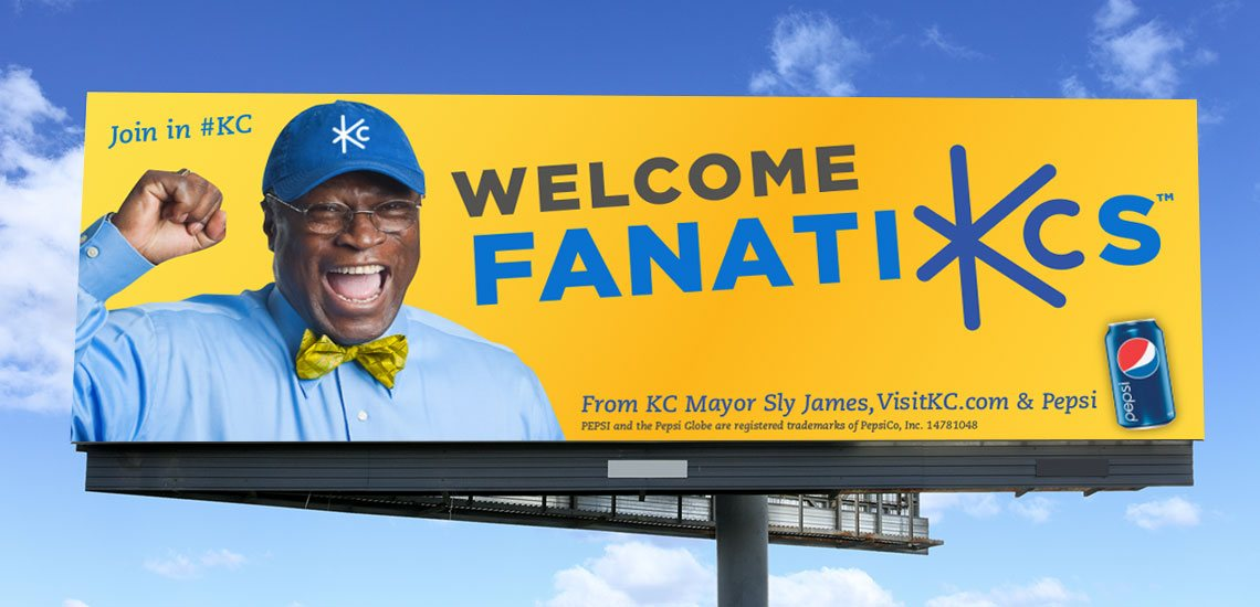FanatiKCs Sly James Outdoor Billboard