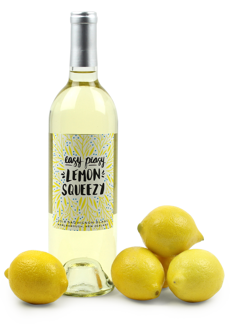Easy Peasy Lemon Squeezy New Zealand wine
