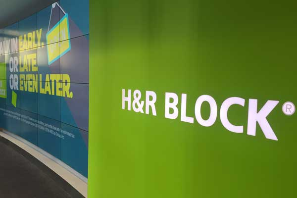 H&R Block Flagship Store in Times Square