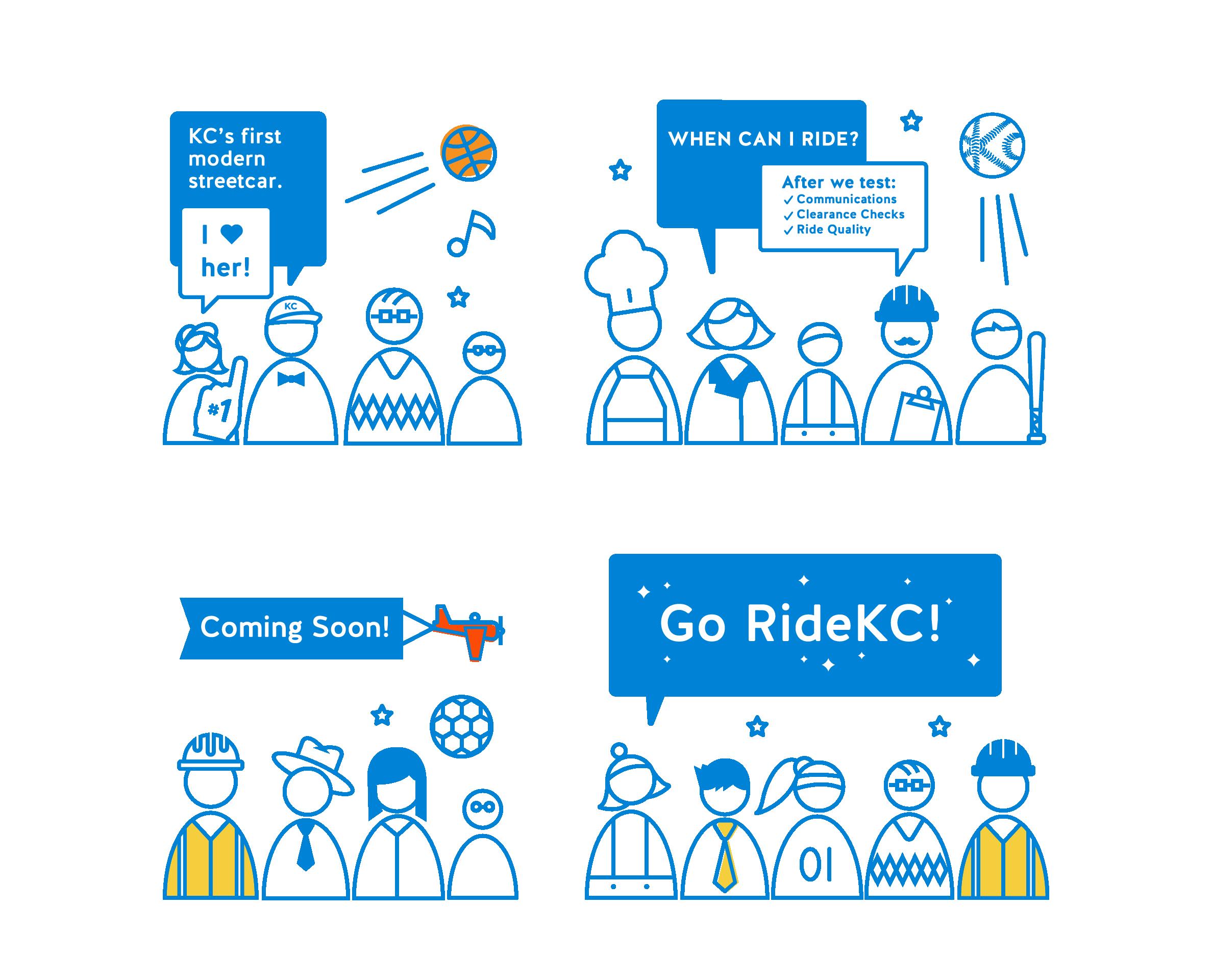 Kansas City Streetcar Launch Graphics