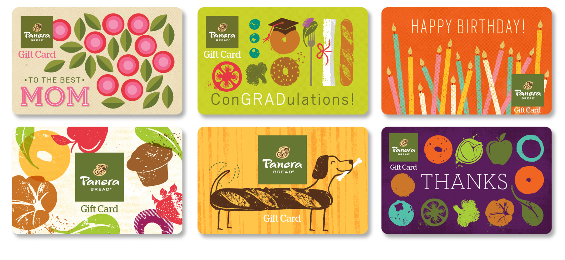 Panera Bread - Final Gift Cards