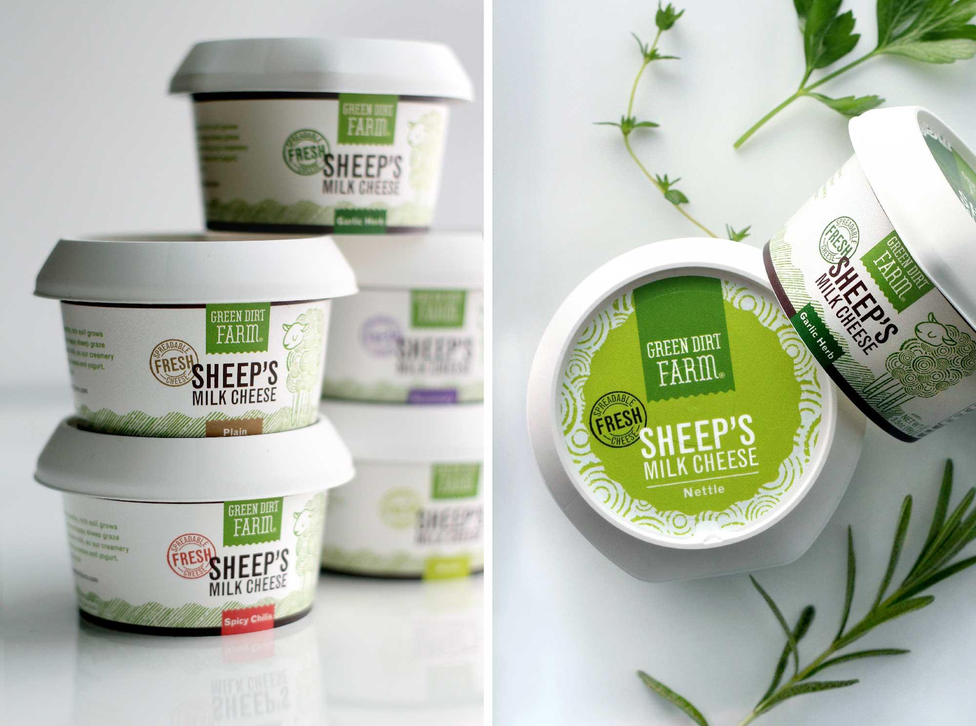 Green Dirt Farm Fresh Cheese Groupings