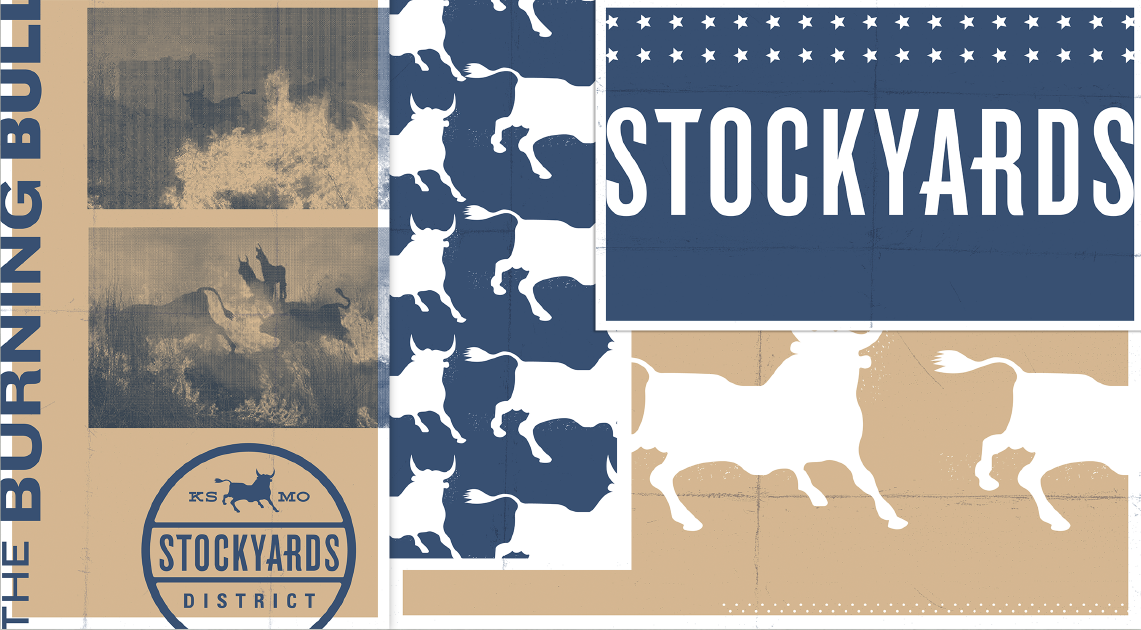 Stockyards District Posters