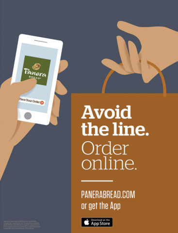 Branding - Panera Rapid Pick-Up POP
