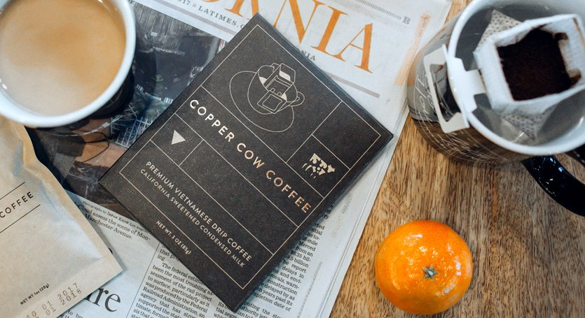 Copper Cow Coffee Kit