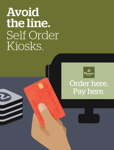 Branding - Panera Self-Order Kiosk