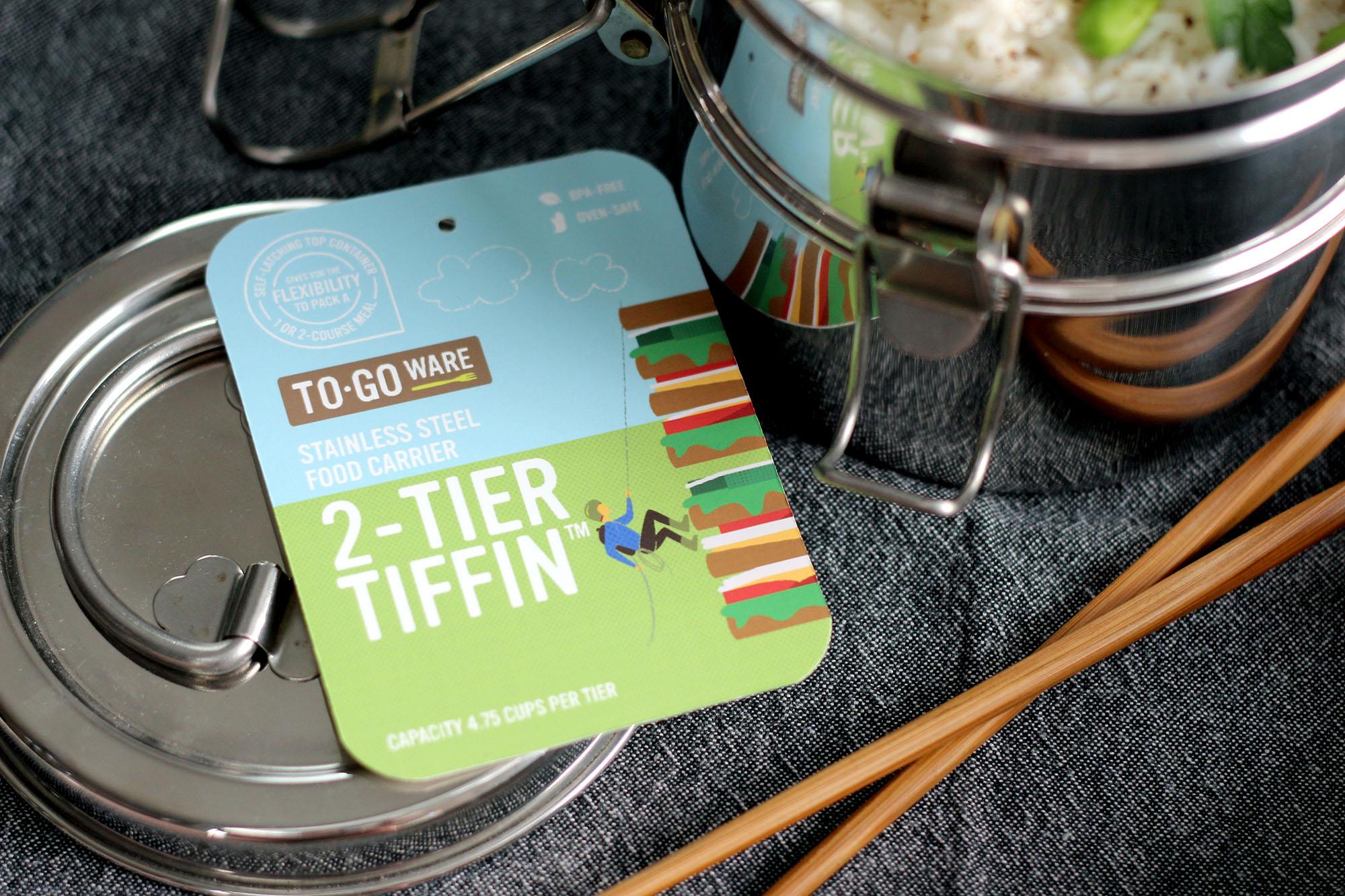 Branding - To-Go Ware Tiffin