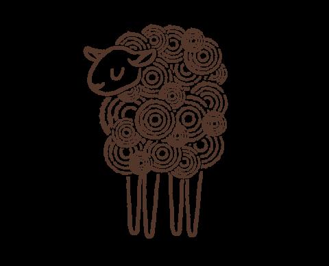 Green Dirt Farm sheep Logo