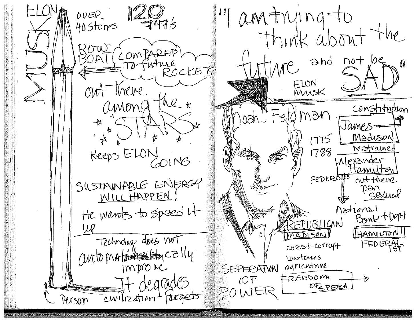 Ann's sketches from TED 2017 - 5