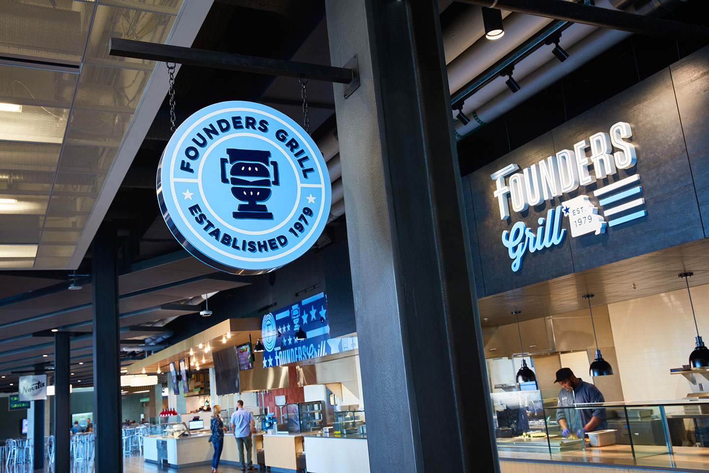 Founders Grill - Environmental Design Kansas City