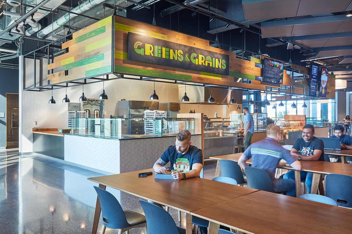 Cerner Dining - Environmental Design | Willoughby Design