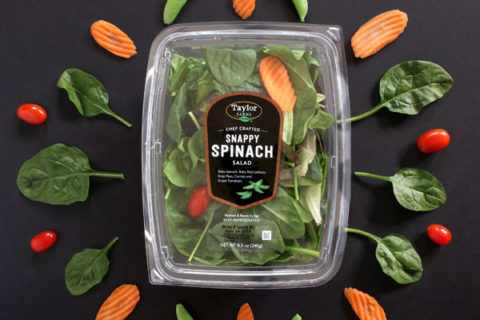 Taylor Farms Snappy Spinach