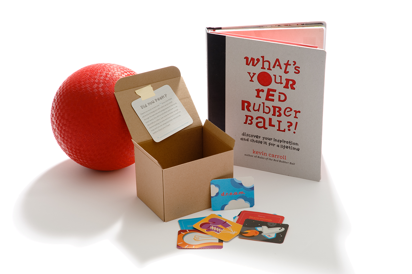 What's Your Red Rubber Ball unboxed