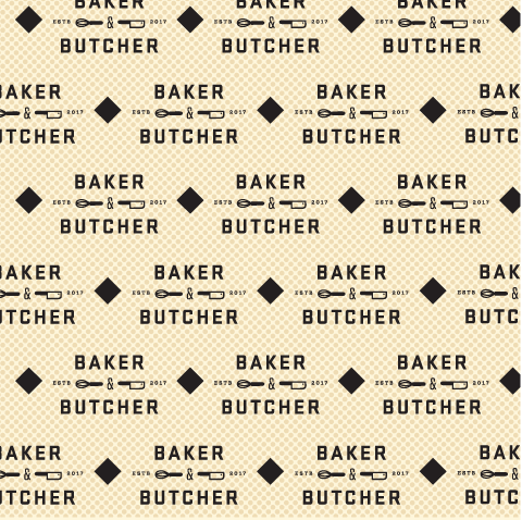 Baker & Butcher Pattern - Environmental Design Kansas City