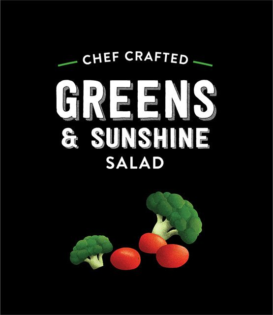 Greens & Sunshine Salad - Taylor Farms