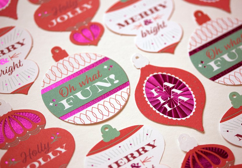 Willoughby Design 2017 Holiday Card - Tags