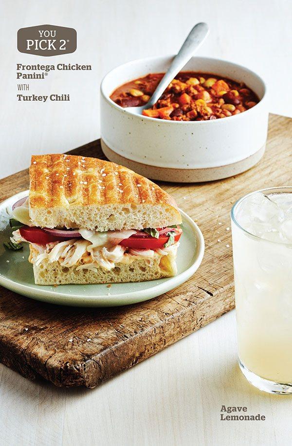 Panera Bread - Frontega Chicken Panini