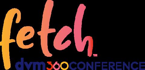 fetch dvm360 veterinary conference logo