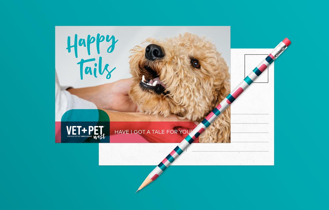 Vet + Pet Postcard