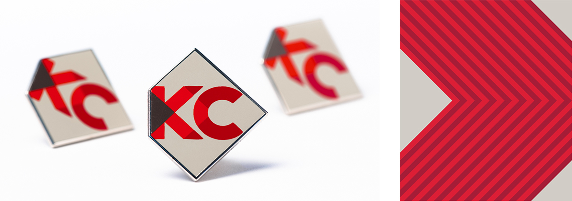 Brand Design - KC Chamber Pins