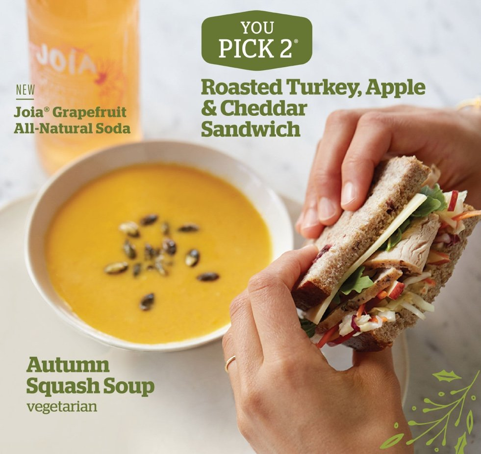 Panera Holiday 2015 Campaign - Roasted Turkey, Apple & Cheddar Sandwich