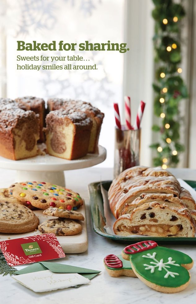 Panera Holiday 2015 Campaign - Baked for Sharing