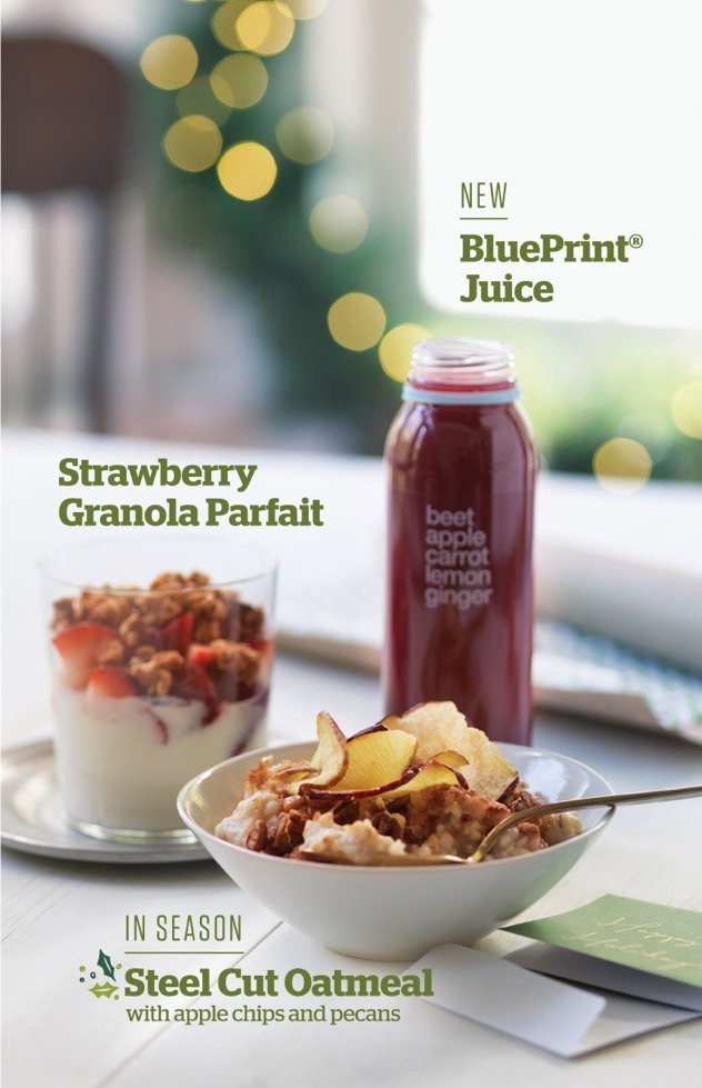 Panera Holiday 2015 Campaign - Menu Items