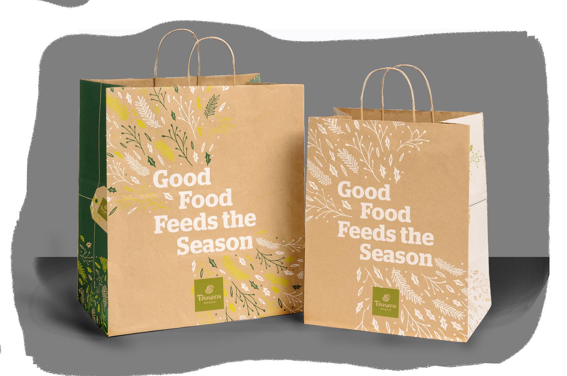 Panera Holiday 2015 Campaign - Bags
