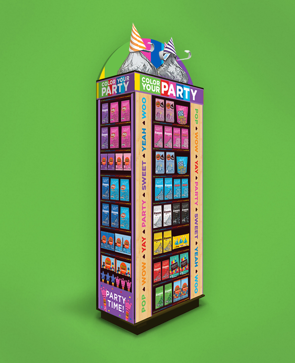 Hershey's - Color Your Party.