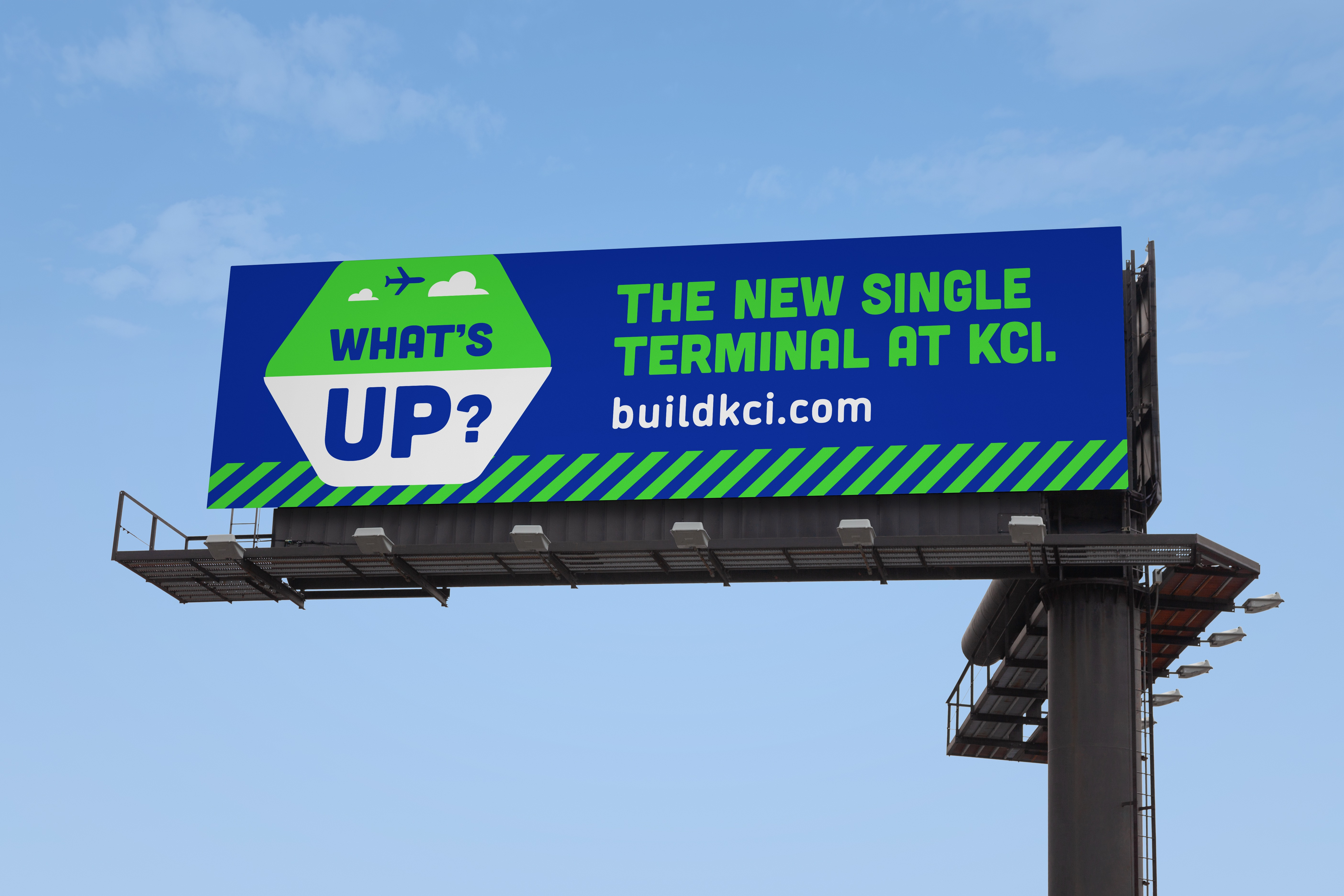 Build KCI Billboard - Civic Brand Design