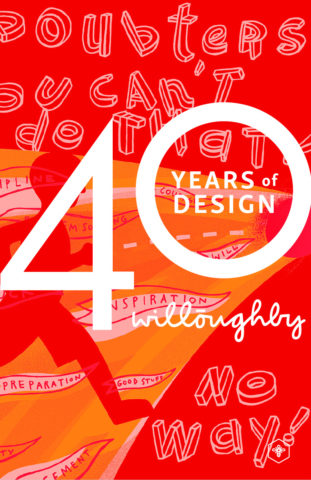 40 Years of Design Poster #1 - Willoughby Design