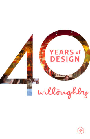 40 Years of Design Poster #2 - Willoughby Design