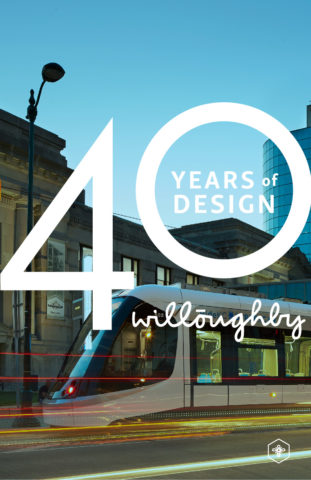40 Years of Design Poster #3 - Willoughby Design