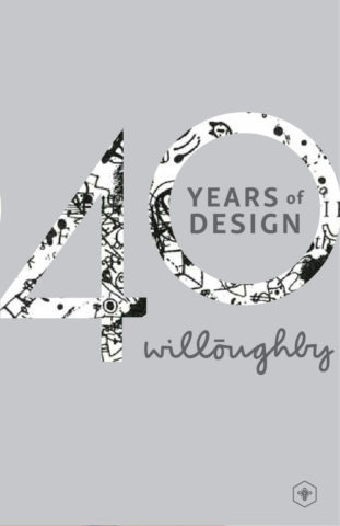 40 Years of Design Poster #4 - Willoughby Design