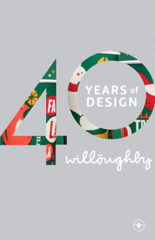 40 Years of Design Poster #5 - Willoughby Design