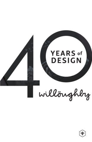 40 Years of Design Poster #7 - Willoughby Design