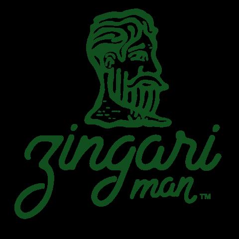 Zingari Man Logo - Skin Care Brand Identity