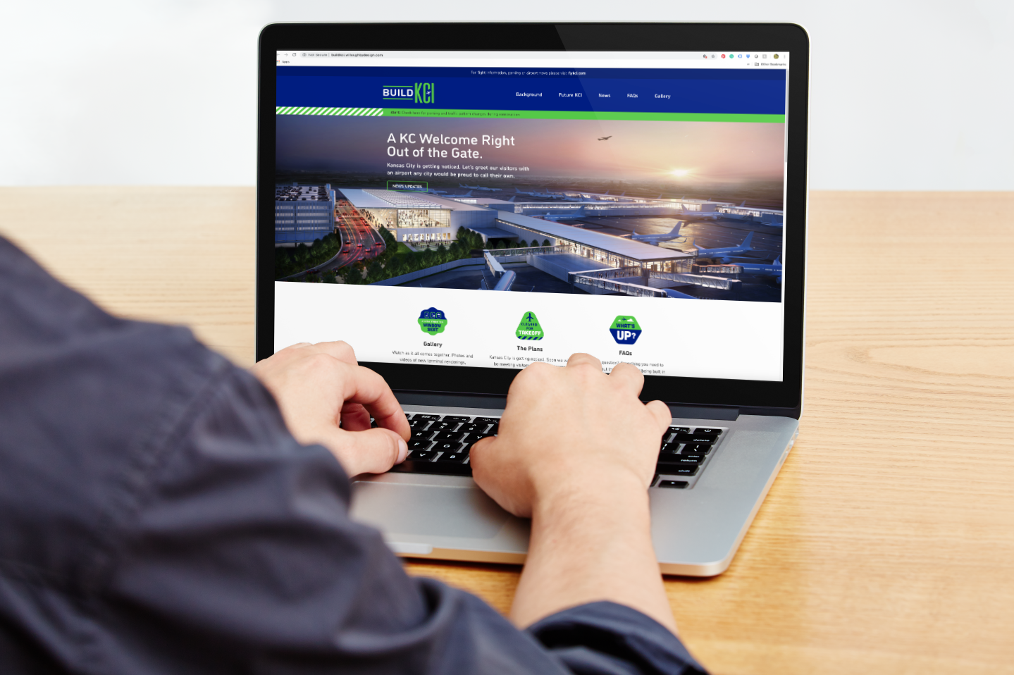 Build KCI Website - Civic Brand Design
