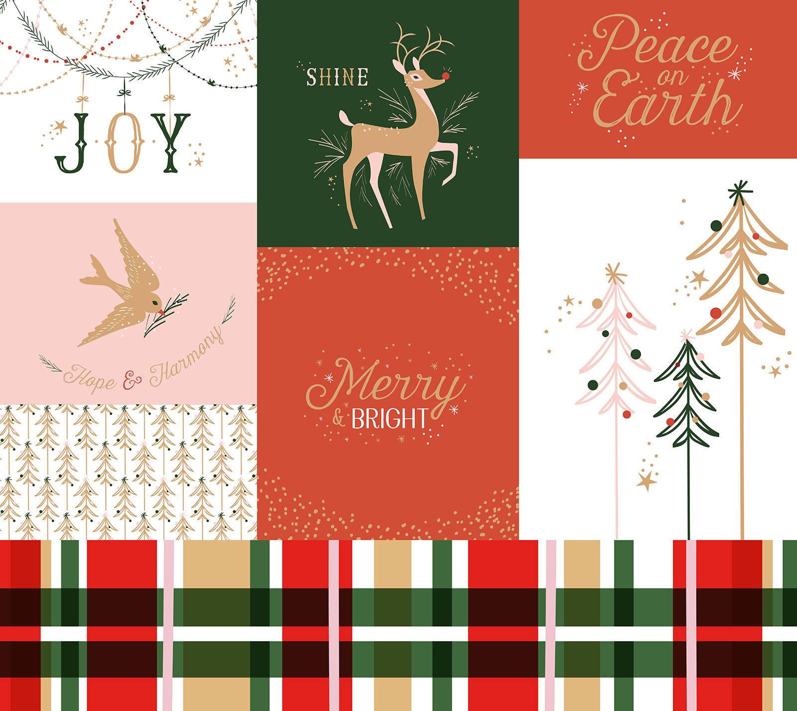 Dixie Holiday Graphics - Surface Design