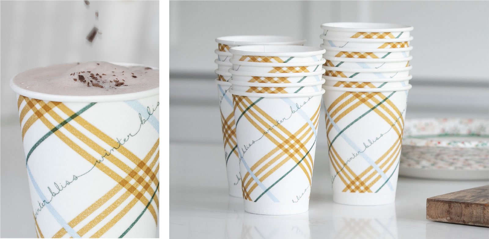Dixie Holiday Cups - Surface Design