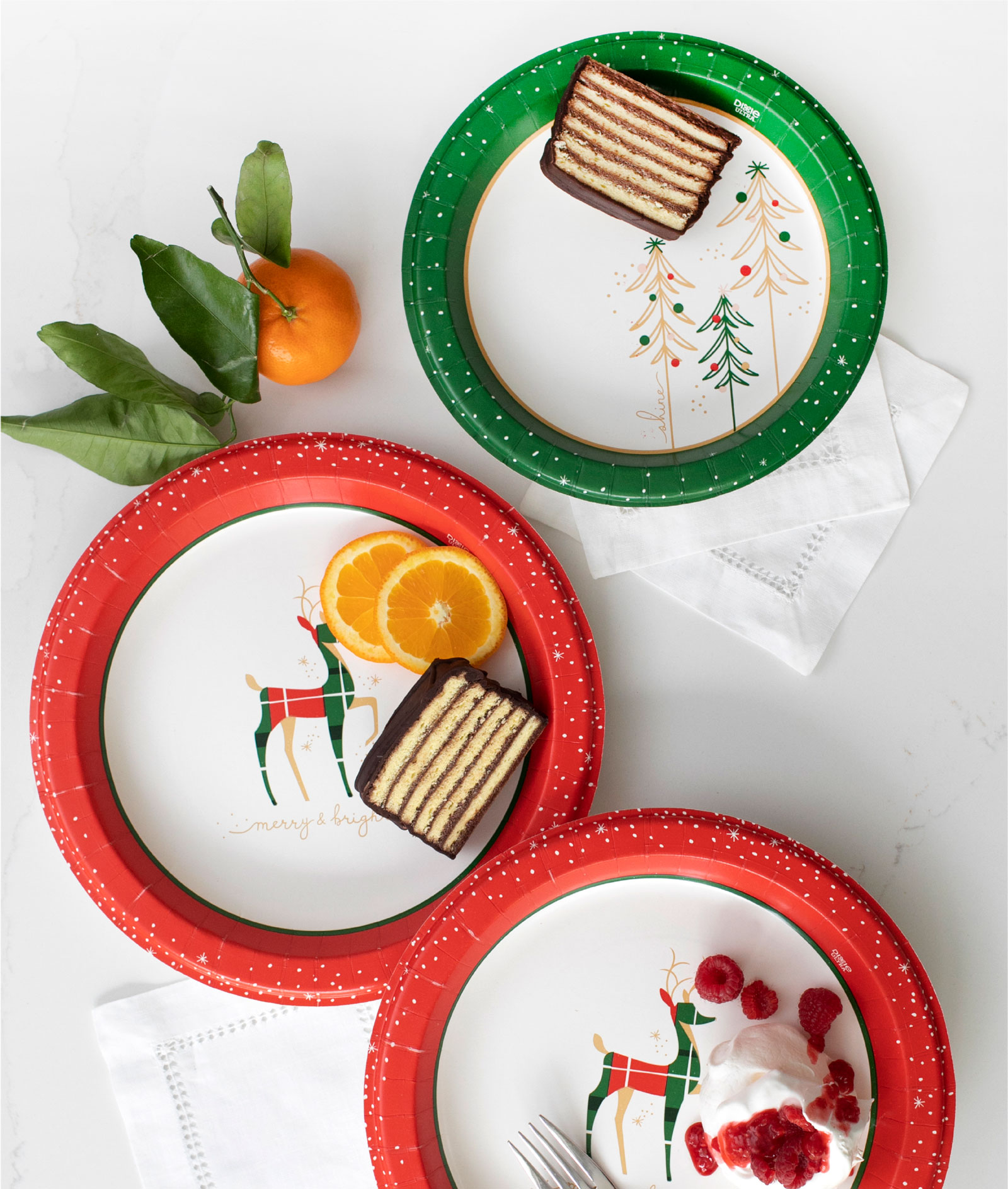 Dixie Holiday Plate Assortment - Surface Design